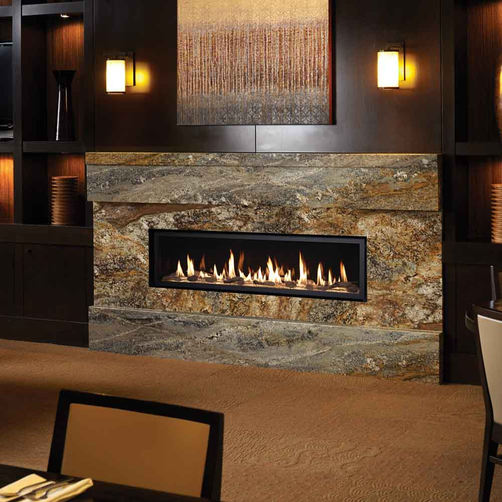high output linear gas fireplaces american heritage