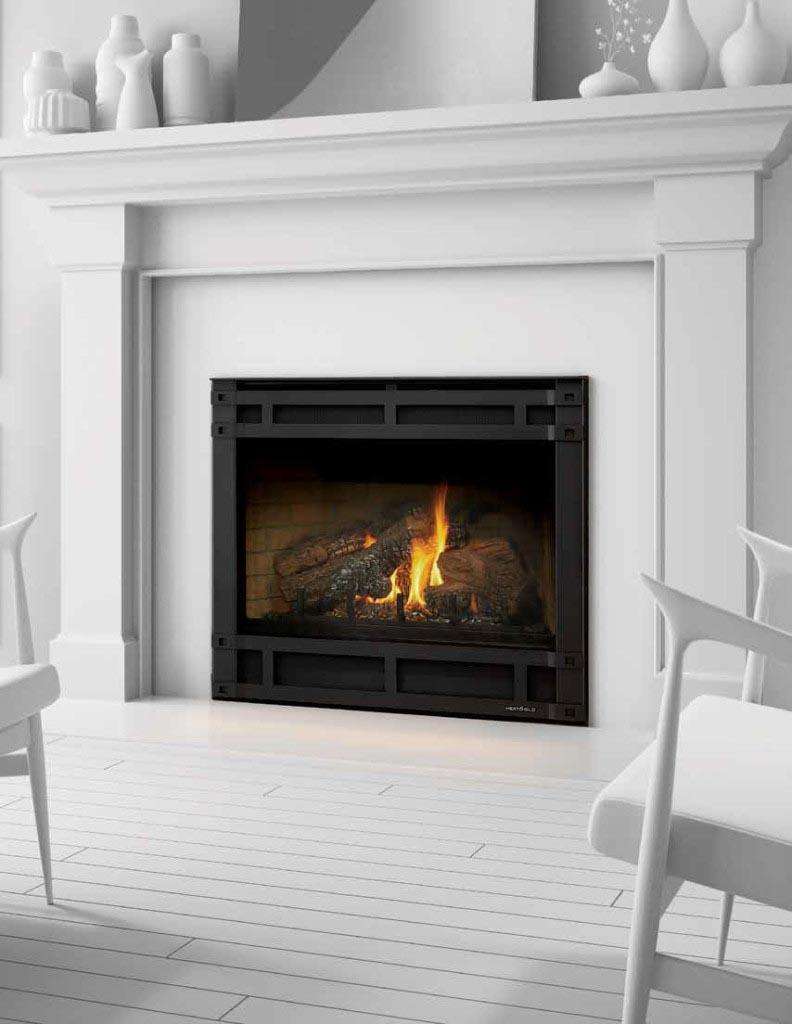 slimline direct vent gas fireplace american heritage