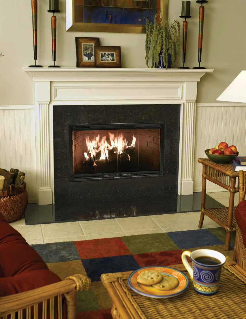 Element Wood Burning Fireplace American Heritage Fireplace