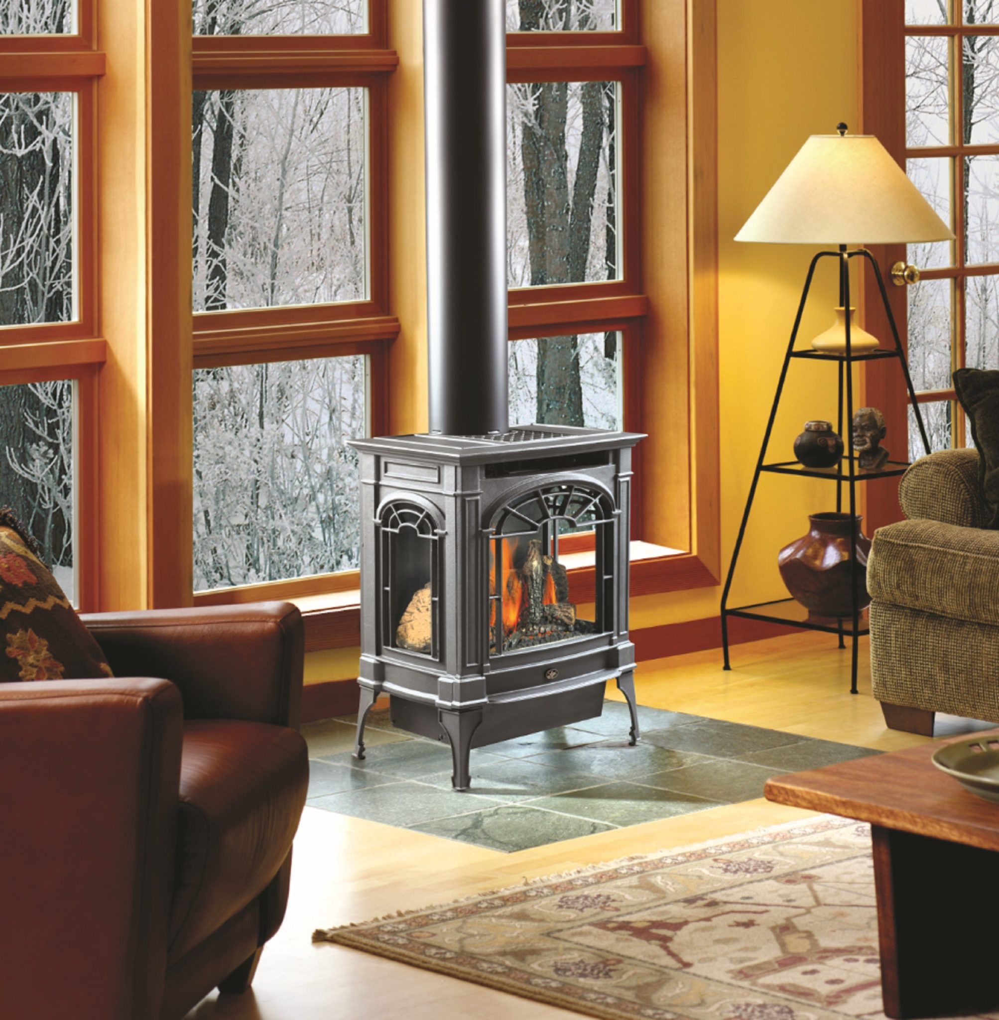Lopi Northfield Gas Stove - American Heritage Fireplace