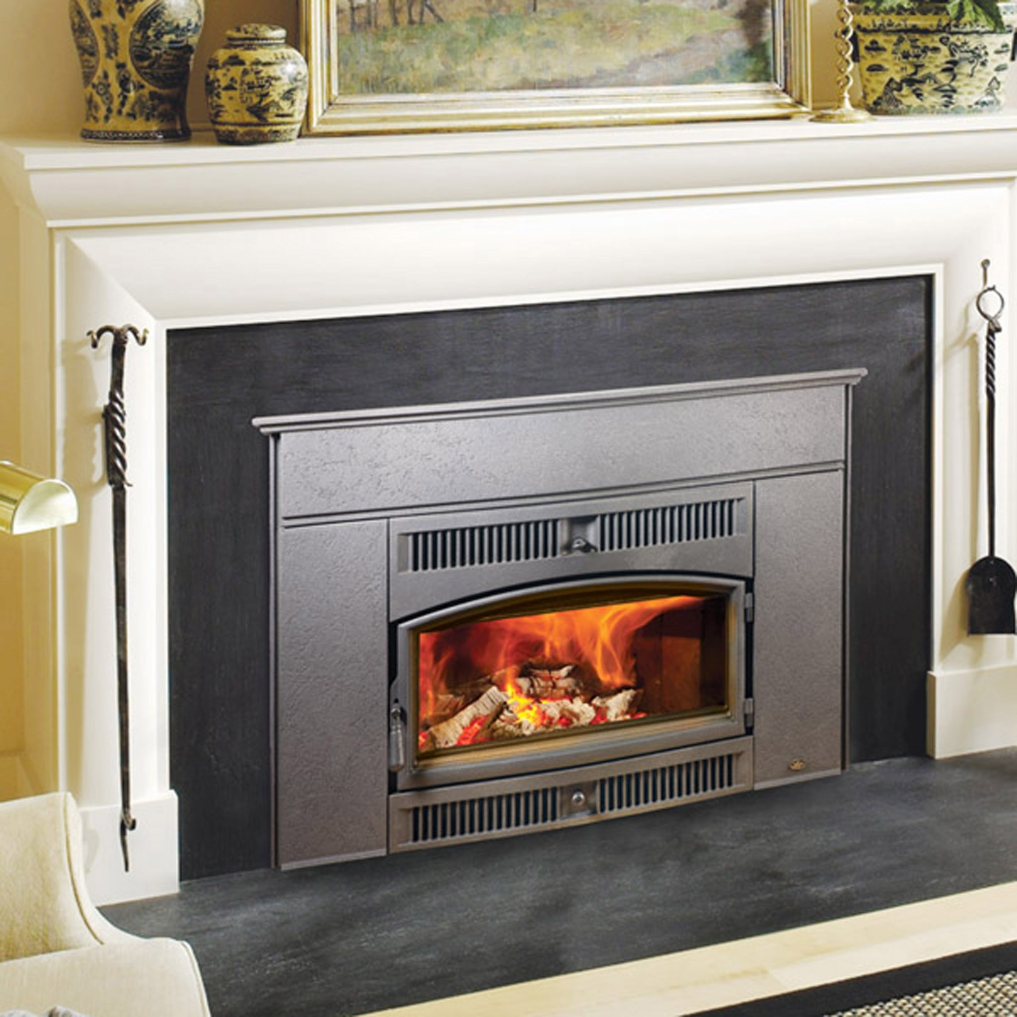insert akdy glass and wood tempered in remote fireplace heater black with freestanding p inserts control electric