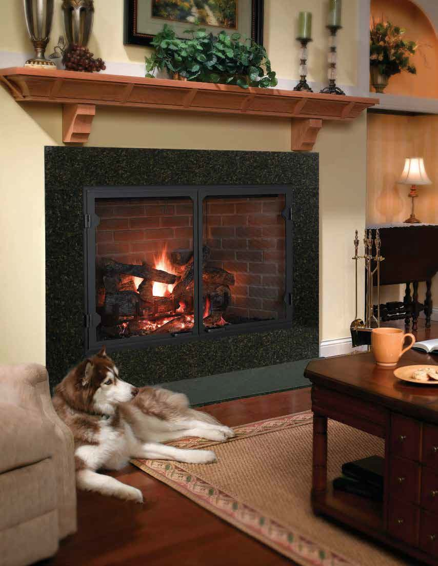 Icon Series Wood Burning Fireplace American Heritage